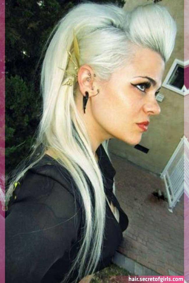 20 Punk Long Hairstyles Rocker Hair Rock Hairstyles Punk Rock Hair Get Bored With Regular Long Hairstyles In Our Rock Hairstyles Rocker Hair Punk Hair