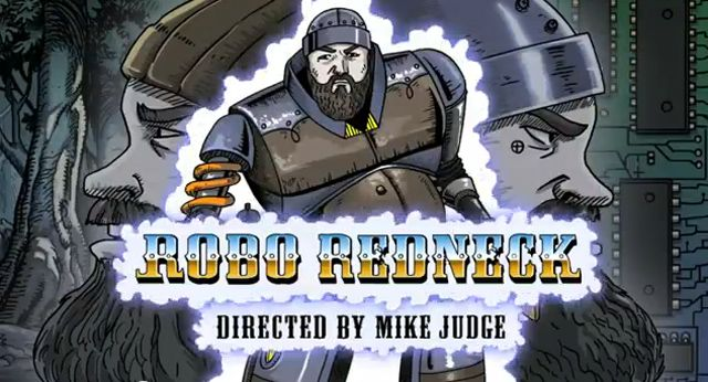 Robo Redneck, Mike Judge Directs a Music Video for Zac Brown Band