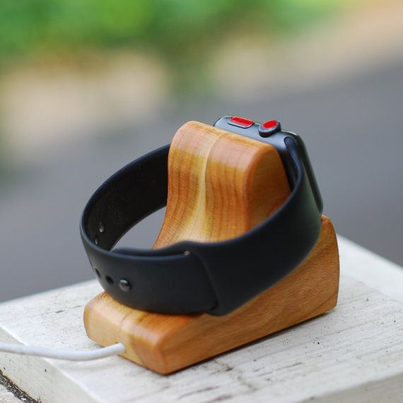 Schuttenworks RIPPLE is the Perfect Apple Watch Dock for Nightstand Mode says MacRumors. Check out their review on http://www.macrumors.com/review/schuttenworks-ripple-apple-watch-dock/ or check out the reviews from our customers right here on Etsy.  The RIPPLE Apple Watch Charging Stand is the perfect Apple Watch charging solution for when you also want to use your Watch in the Nightstand Mode that comes with watchOS 2 while charging your Watch. The ledge in the fron...