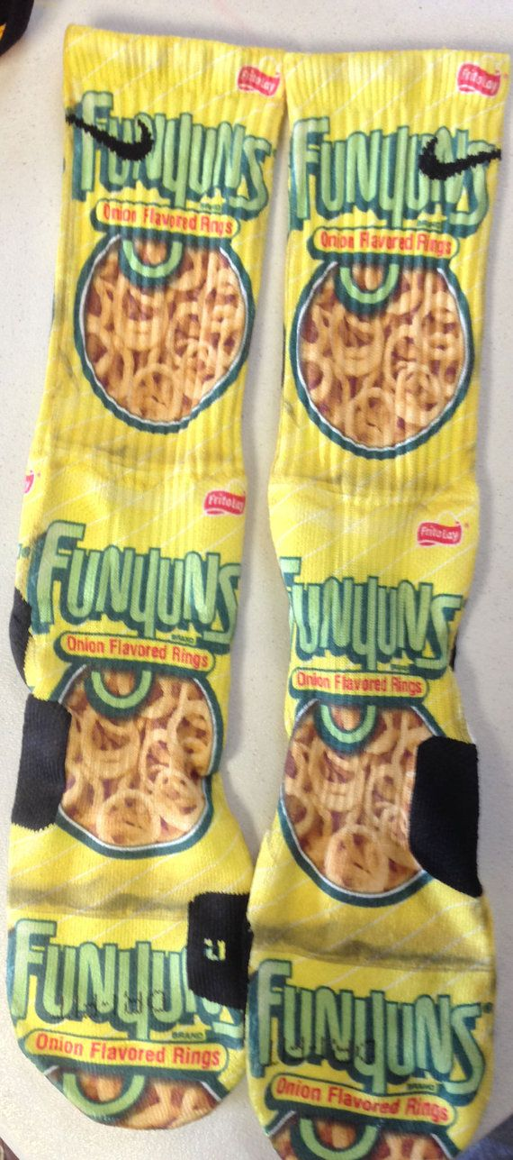 Custom Funyans Nike Elite Crew Socks by TouchOfLoveProducts
