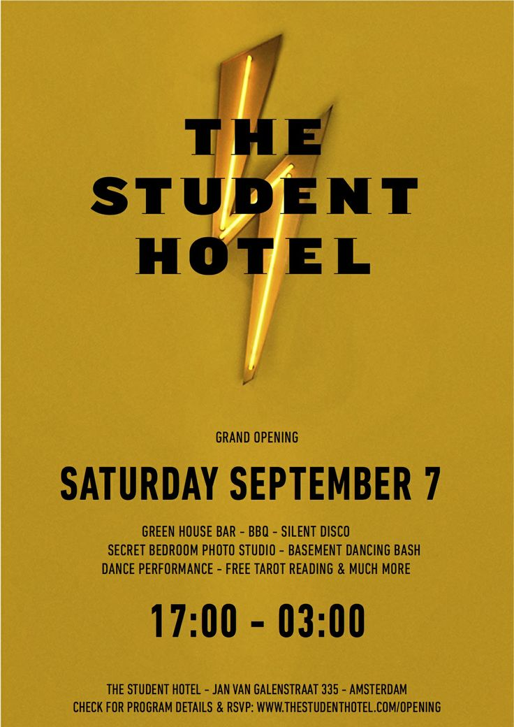 #24Hwest Opening Party of @The Student Hotel