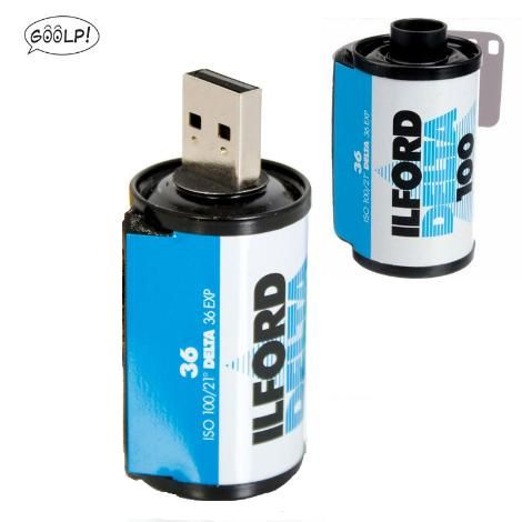 USB ILFORD RULLINO FOTOGRAFICO