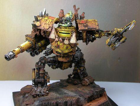 Ork Mega Dread, 40k Warhammer | Greenskins | Warhammer 40k