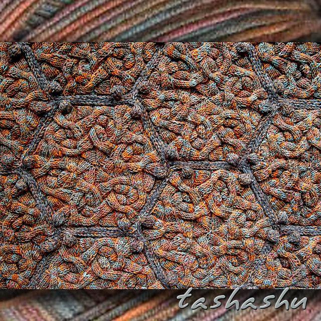Ravelry: Hexagon Knitted pattern by Svetlana Gordon