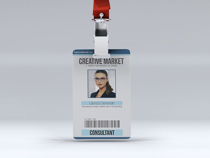 47 Best Id Badge Images On Pinterest | Badge Design, Lanyards And