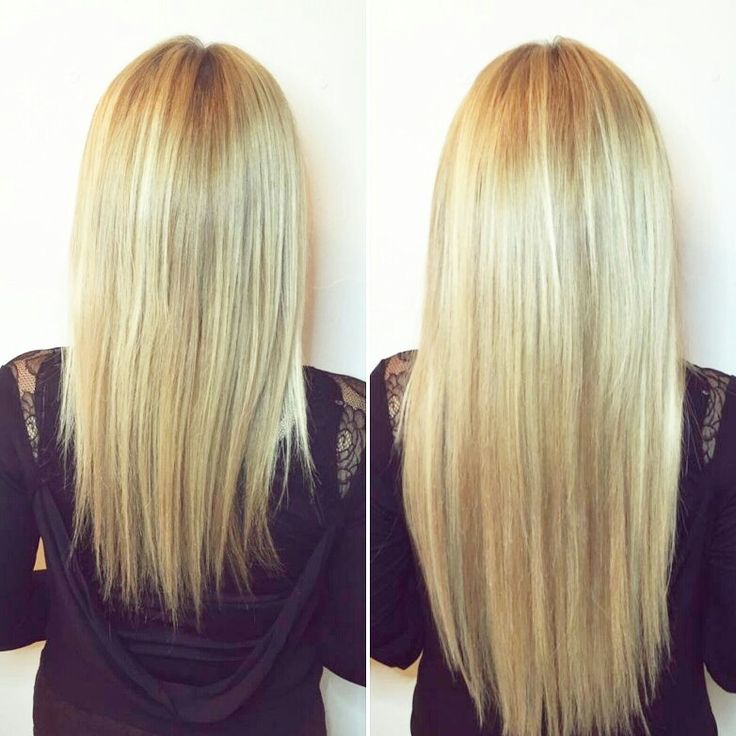Gorgeous 3 color blend of fusion hair extensions!  #HairExtensions #Hair