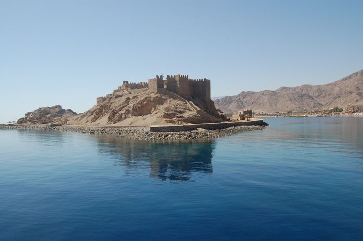 Pharaoh's Island south of Taba