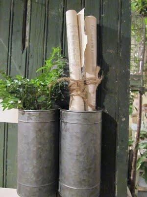 cylinder galvanized love