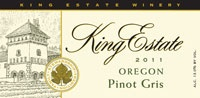 King Estate Winery Pinot Gris. The most amazing white wine you will ever taste!