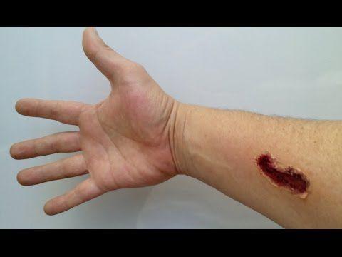 Herida Falsa para Bromas!!! - YouTube