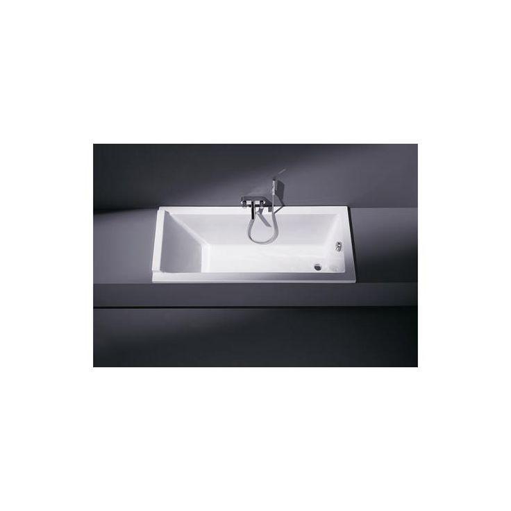 Starck rektangulært badekar for innbygging med 1 nakkestøtte. - vvskupp.no