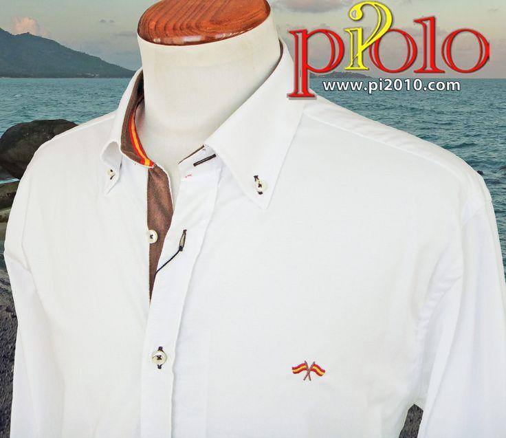 Pin en Camisas bandera de España hombre