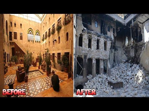 Before and After Pictures Of Aleppo (Syria)