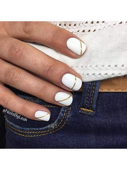 25 Chic Nail-Art Ideas for Summer: Nail Ideas: allure.com