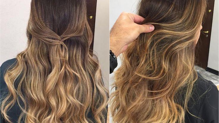 Sombre ve Ombre balyaj çalışmaları #yeni Saç ✂️ Modelleri