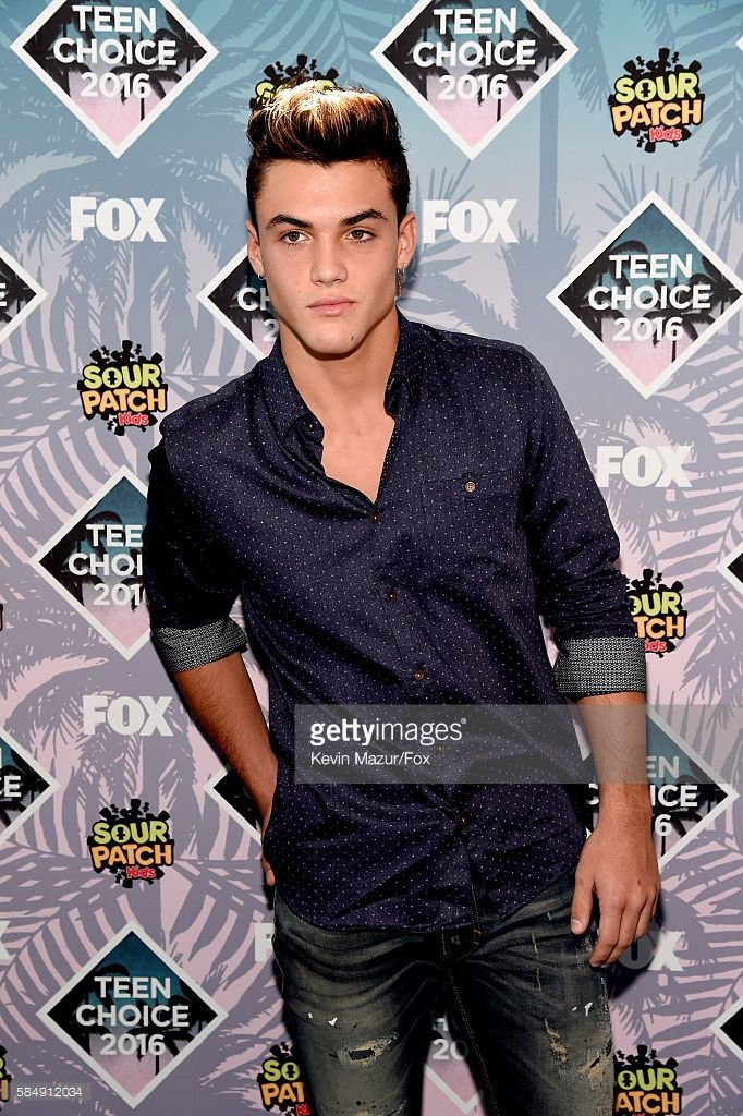 Internet personality Grayson Dolan attends Teen Choice Awards 2016 at The Forum on July 31, 2016 in Inglewood, California.