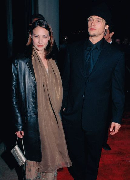 Claire Forlani Photos Photos - The following are classic (stock) images of Brad Pitt. - Classic Images of Brad Pitt