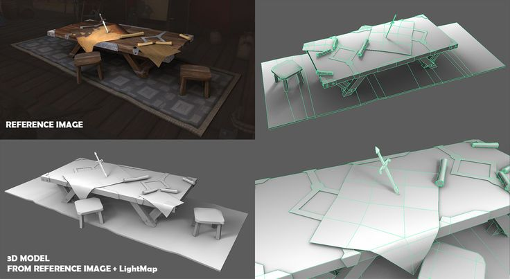 Low-poly props(1002 polys, 1866 tris) modeled from reference image    #art #photoshop #autodesk #cg #wacom #interior #videogames #3dmodeling #3d #3dart #graphics #3dartist #modeling #lowpolyart #lowpoly #game #realtime #props #gamedev #games #indiedev #indiegame #furniture