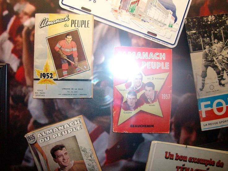 Articles promotionels;articles de collections;calendriers,posters;produit alimentaires,musique...Le Canadien de Montréal est partout.