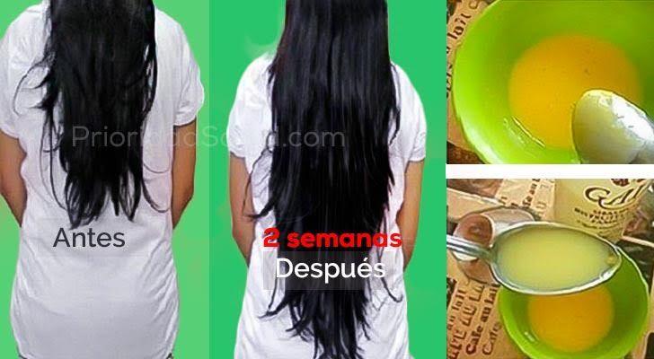 Esta mascarilla simple de preparar hace crecer tu cabello como loco.