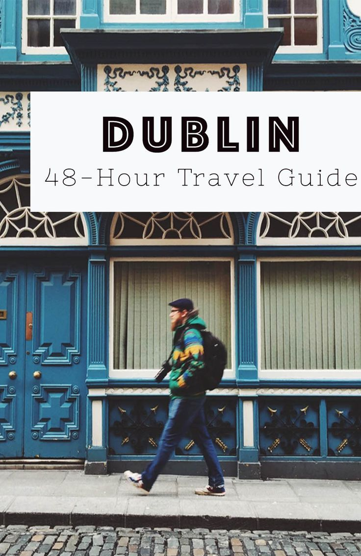 What to do with 48 hours in Dublin, one of the world's friendliest cities. Tips for restaurants, cafes and things to do in Dublin.