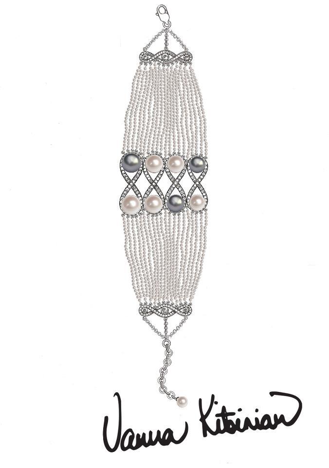 From Concept to Creation: The Vision of Vanna K...    www.VannaK.com  #VannaK #Jewelry #Vintage #Pearls #Diamonds #Kitsinian