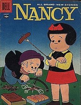 comic strips books comics nancy sluggo cartoon couples