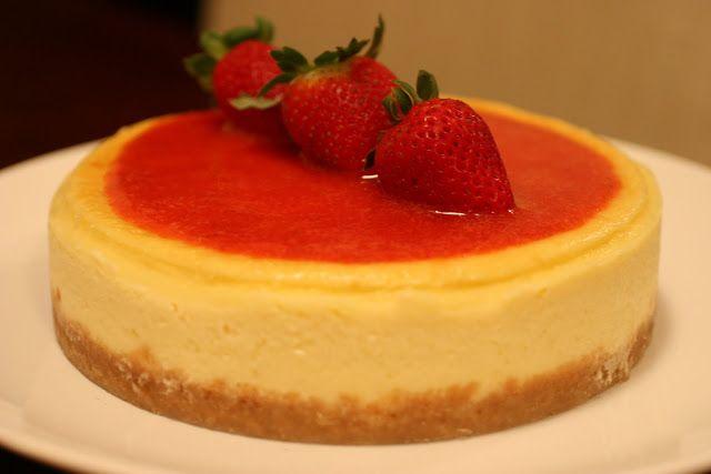 Com uma pitada de açúcar...: A melhor Cheesecake Everrrrrrrrrrrrrr!