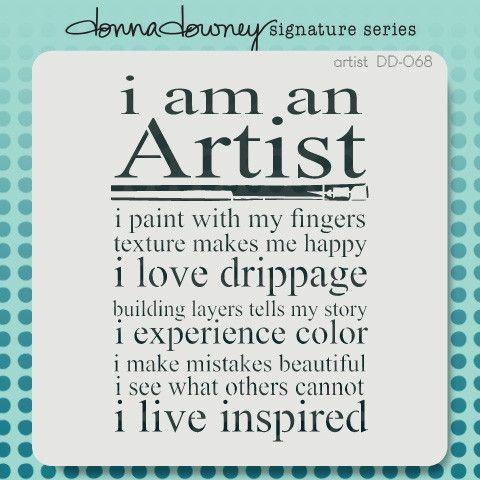 donna downey signature stencils - artist | Donna Downey Studios Inc