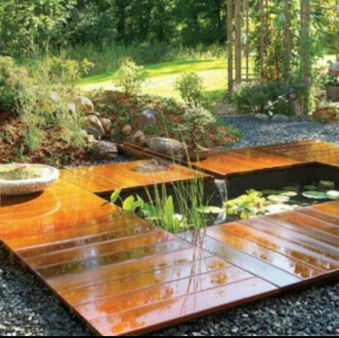 Meditation Garden Pond