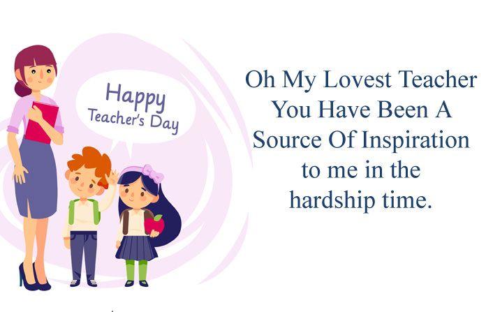 Best Teachers Day Greeting Card Images For Kids Teacher Happyteachersday Inspiration Best Happy Teachers Day Teachers Day Wishes Happy Teachers Day Wishes