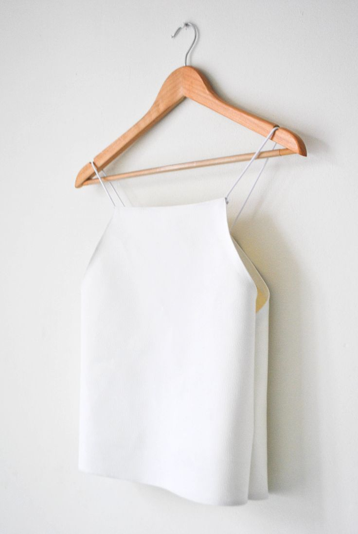 DIY White Leather Top, k-fa.blogspot.nloh great, my new fave blog.