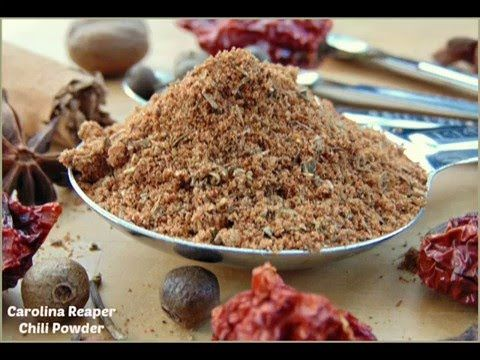 How to Make Carolina Reaper Chili Powder - Probably the Hottest Powder i...