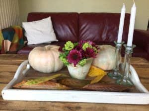 OLD WOODEN TRAY, THRIFT STORE MAKEOVER