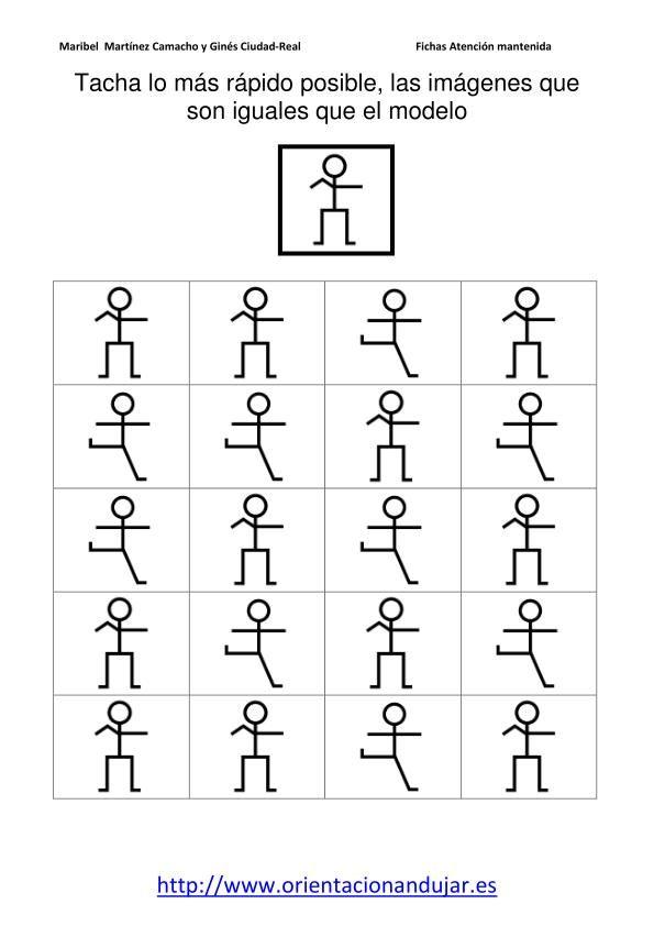Tachar Iguales Al Modelo Nivel Inicial Fichas 1 20 10 Doc Charadas De Matematica Atividades Para Idosos Yoga Para Criancas