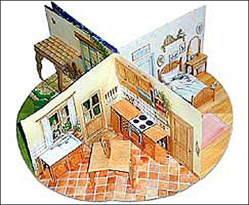 les pop up de martine livre anim la maison de martine. Black Bedroom Furniture Sets. Home Design Ideas