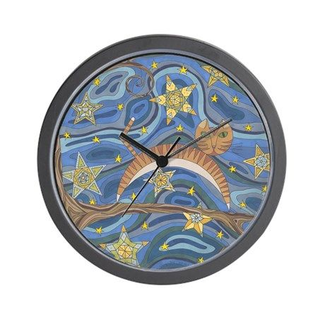 Out on a Limb Wall Clock on CafePress.com