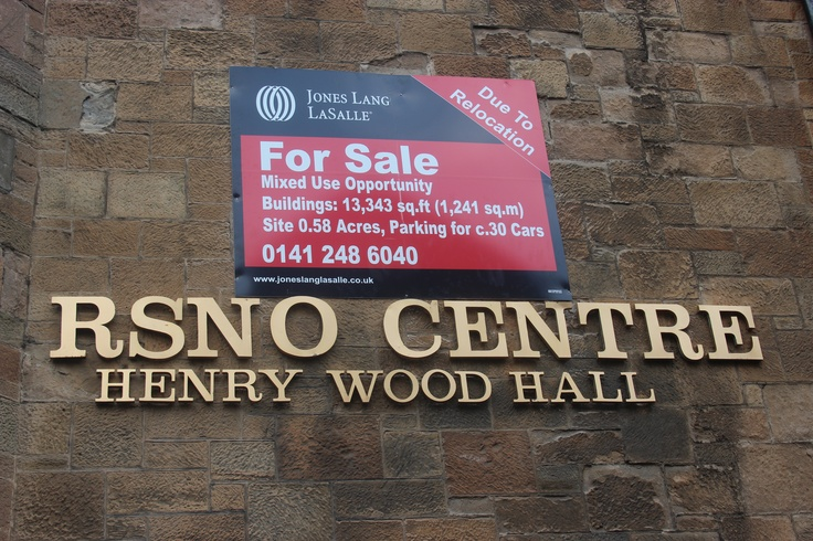 RSNO Centre at Henry Wood Hall is put up for sale
