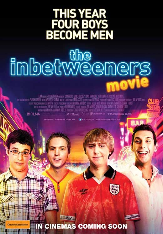 The Inbetweeners Movie (Australian) 11x17 Movie Poster (2011)