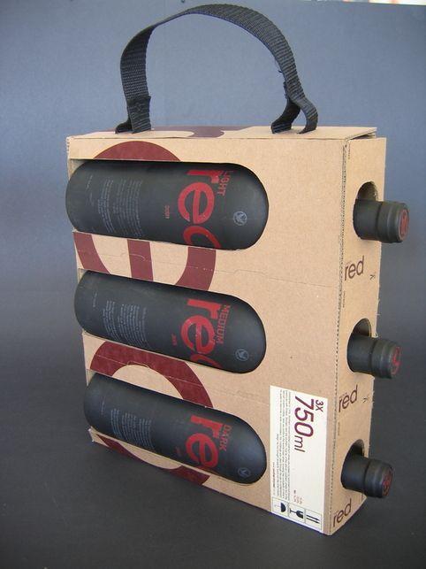 10 innovadores estuches de cartón para vino