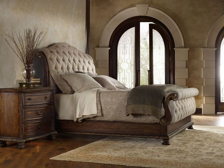Hooker Furniture Adagio Tufted Bedroom Set  Grand scale classic design and  soft flowing shapes are. 21 best Tufted Upholstered Bedroom images on Pinterest