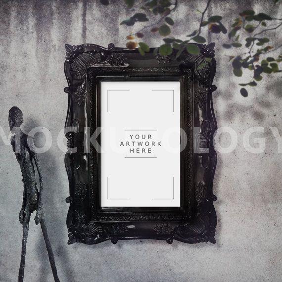 Download Free 11x17 Vertical Digital Black Baroque Frame Mockup Poster Frame Psd Free Psd Mockups Tem In 2020 Mockup Free Psd Free Psd Mockups Templates Poster Frame
