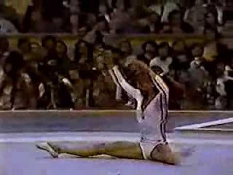 romanian gymnastics - 1976