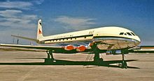 1954 ♦ April 8 – South African Airways Flight 201, a de Havilland Comet flying from Rome to Cairo bound for Johannesburg, disintegrates in mid-air, killing all 14 passengers and 7 crew; as in BOAC Flight 781, the cause is metal fatigue at stress risers at the corners of the square windows in the aluminum skin.