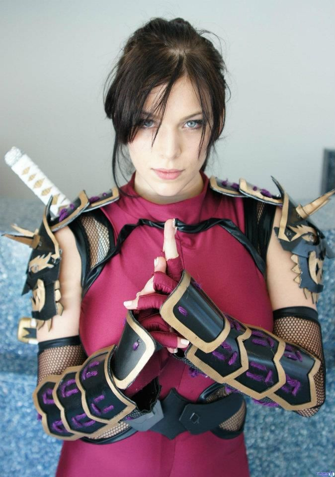 Onlygamercosplay Mai Shiranui Cosplay By Miss Sinister Game Soul Calibur Character Taki Cosplayer Kelume This Is My