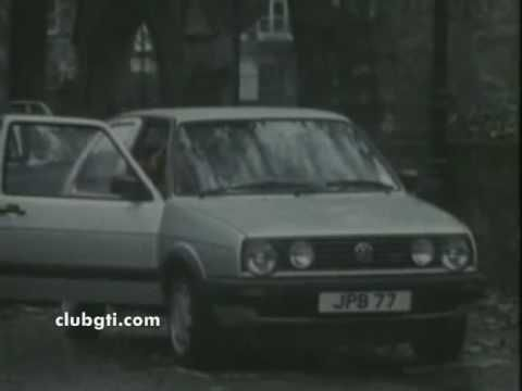 Mk2 Golf GTI TV commercial -  Changes