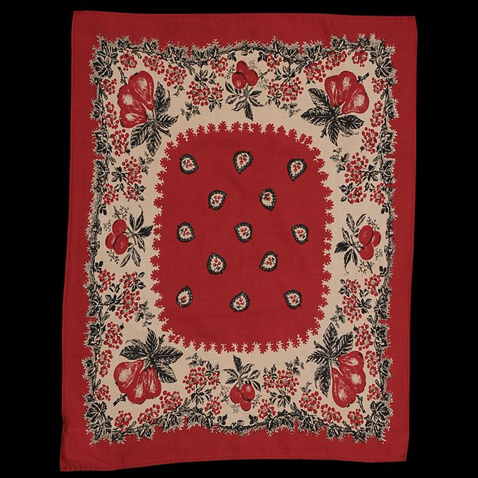 UNIONMADE - Levi's Vintage Clothing - Floral Bandana in Red