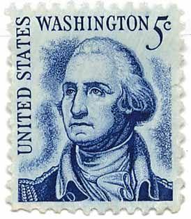 Old Us Postage Stamps Value | Stamp / USA: United States - Washinghton / United States #1054