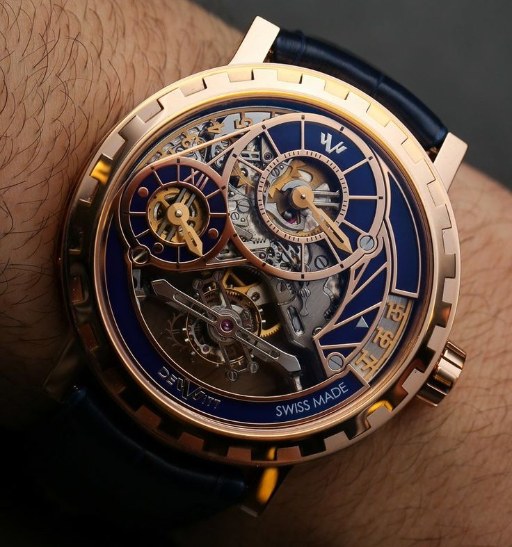 """DeWitt Academia Grand Tourbillon Watch Hands-On - by Ariel Adams - see the video with the """"jumping"""" hours & tourbillon in action, the full photo gallery, and read more: http://www.ablogtowatch.com/dewitt-academia-grand-tourbillon-watch/ """"Recently, while in Geneva, Switzerland, I had the opportunity to visit 'manufacture DeWitt,' an impressive and resolutely niche high-end watch maker who produces almost everything themselves and is owned by Mr. Jerome DeWitt - whose family tree includes…"""