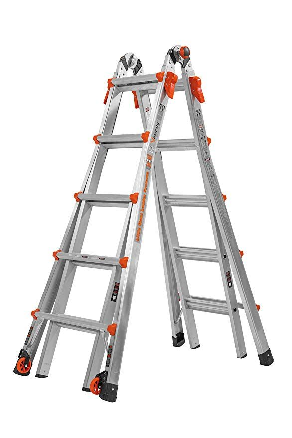 Little Giant 22 Foot Velocity Multi Use Ladder 300 Pound Duty Rating 15422 001 Telescoping Ladders Amazon Com Best Ladder Aluminium Ladder Little Giants